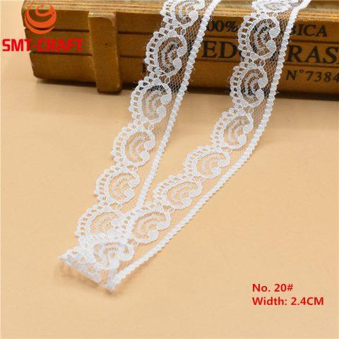 White Lace Ribbon