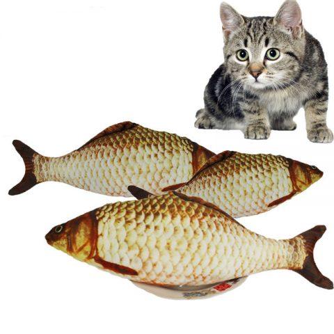 Fish Shape Cat Toys