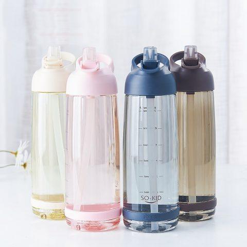 Water Bottle Straw Sports Bottles