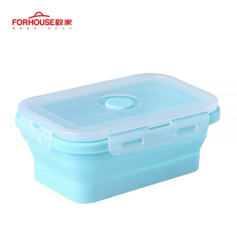 Collapsible Lunch Box Food Container