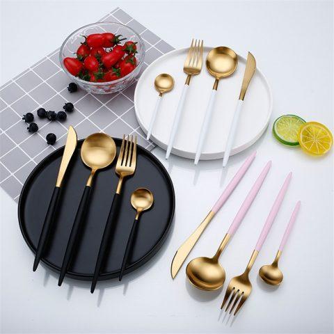 Western Food Tableware Luxury Fork