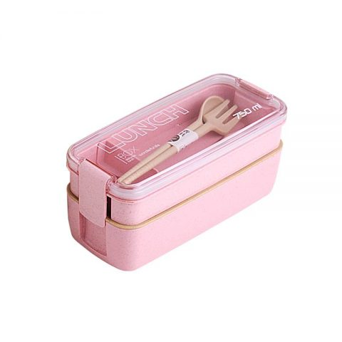 Lunch Box Wheat Straw Bento Boxes