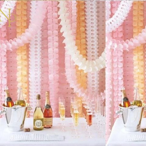 Wedding Party Decoration Clover Paper