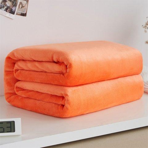 Soft Warm Coral Fleece Blanket