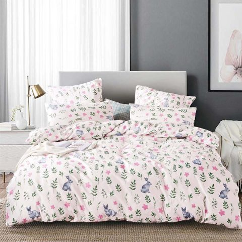 Printed Solid Bedding Home Bedding