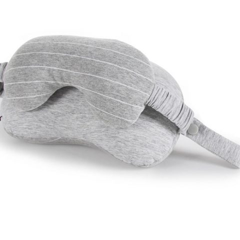Business Travel Neck Pillow & Eye Mask