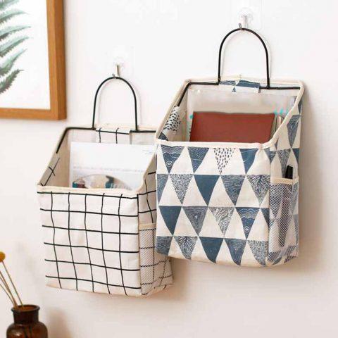 Lattice Hanging Storage Bag