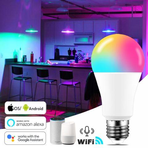 15W WiFi Smart Light Bulb