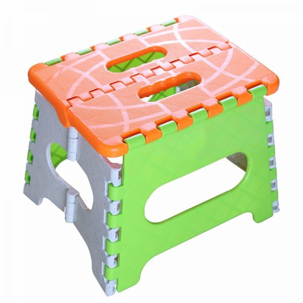 Plastic Portable Step Stool Foldable Chair