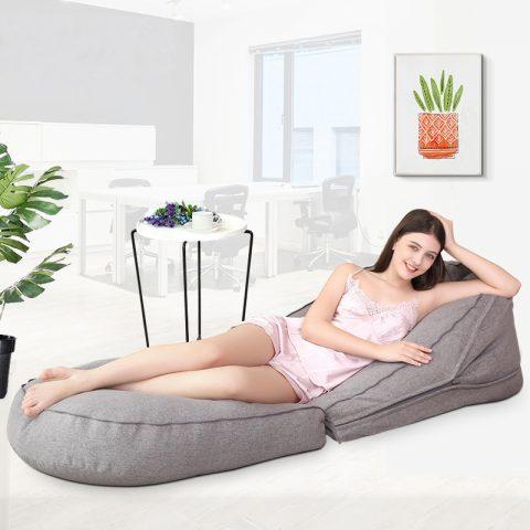 Lounger Seat Bean Bag Pouf Sofa