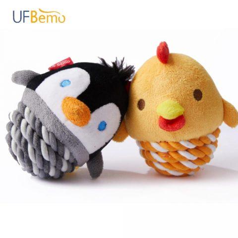 Birds Dog Toys Plush Fetch Toy