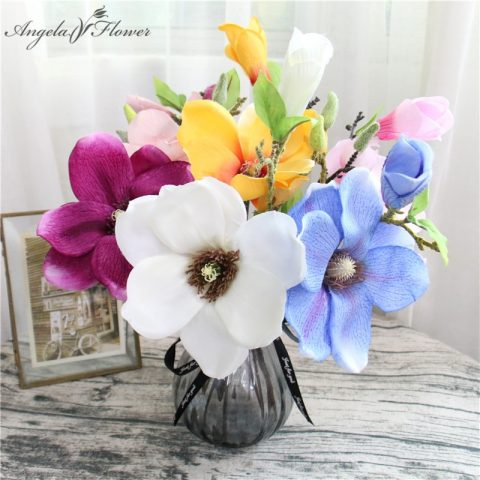 Artificial Flower Magnolia Orchid