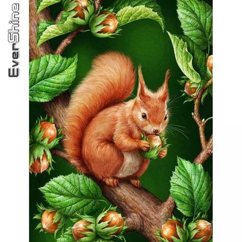 Plant Art Eurasian Red Squirrel
