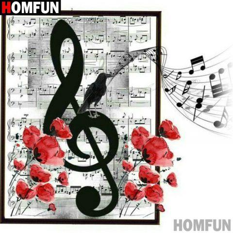 Diamond Painting Sheet Music Pattern